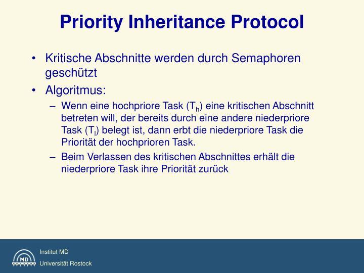 Priority Inheritance Protocol