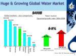 huge growing global water market