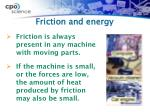 friction and energy1