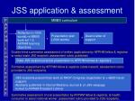 jss application assessment