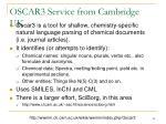 oscar3 service from cambridge uk