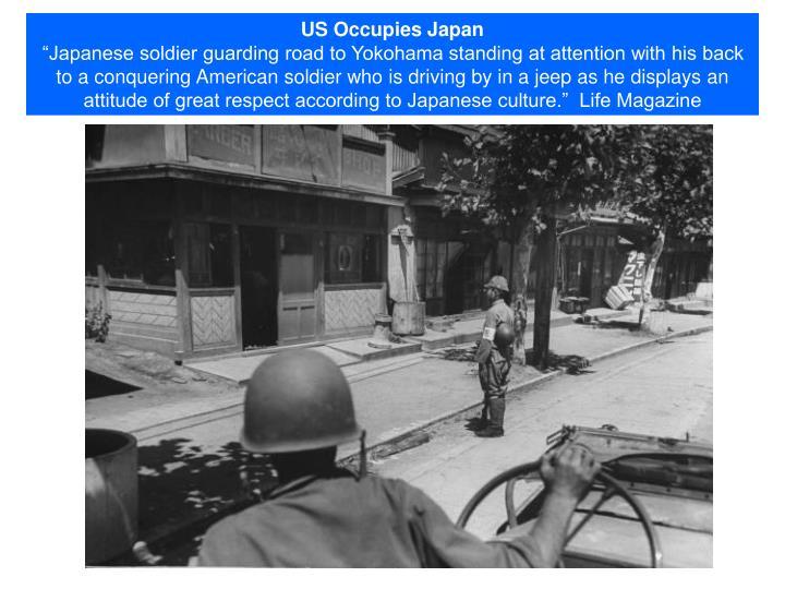 US Occupies Japan