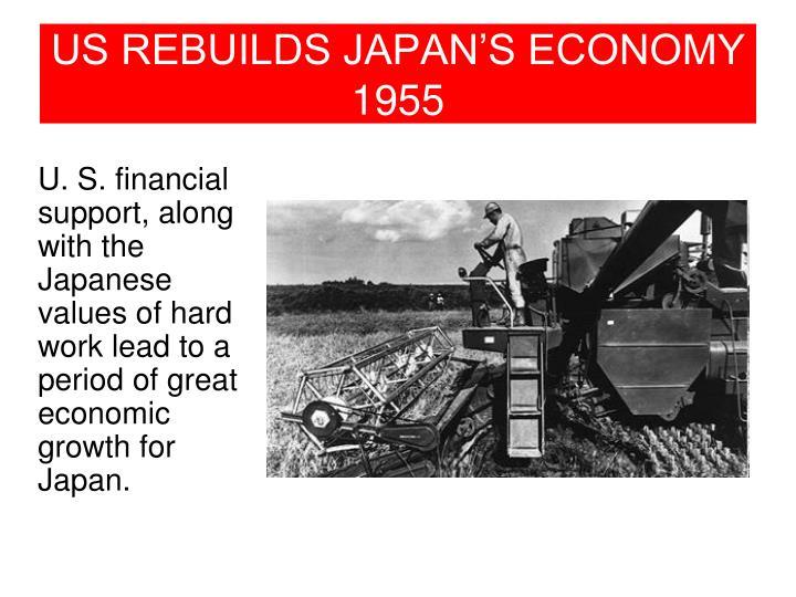 US REBUILDS JAPAN'S ECONOMY
