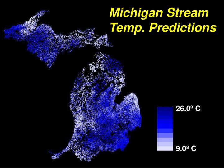 Michigan Stream Temp. Predictions