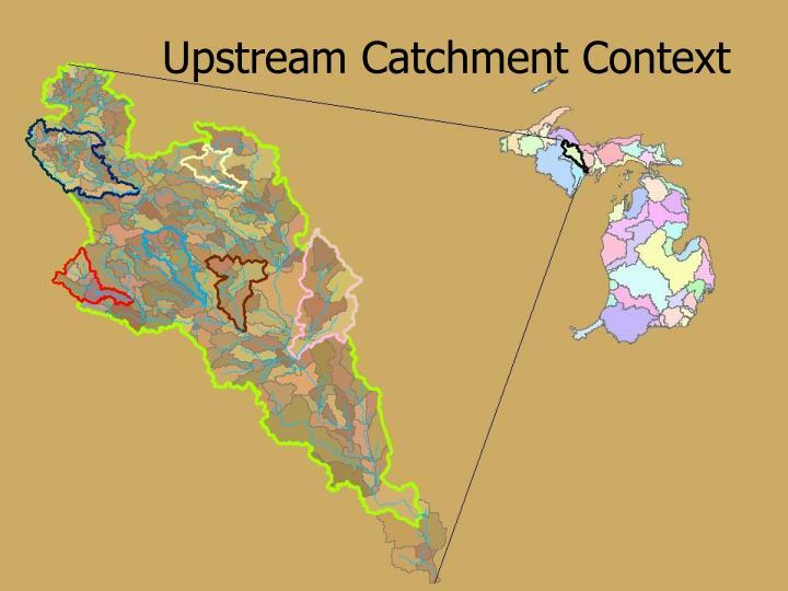 Upstream Catchment Context