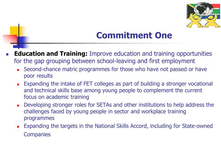Education and Training: