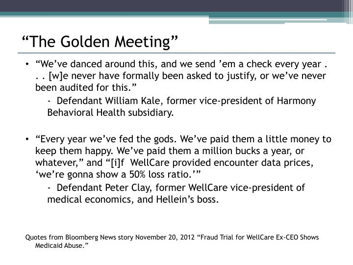 """The Golden Meeting"""