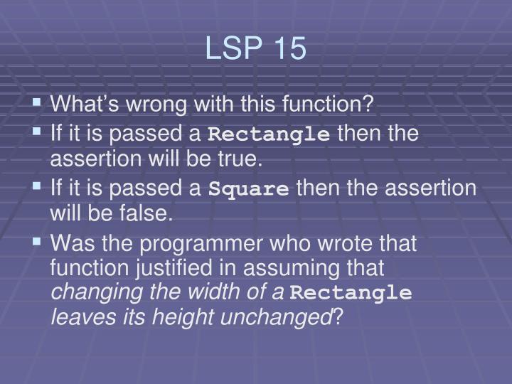 LSP 15