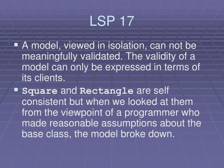 LSP 17