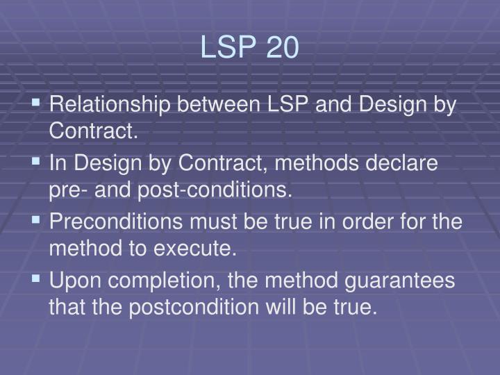 LSP 20