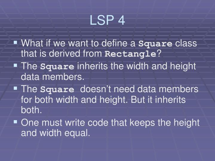 LSP 4