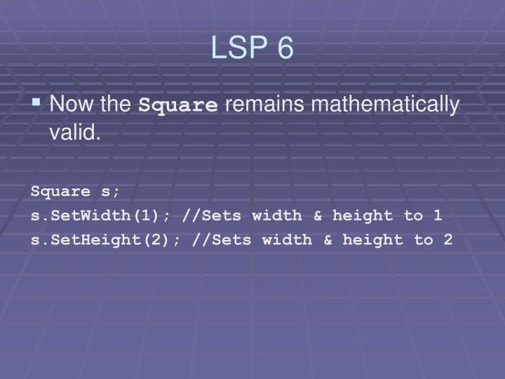 LSP 6