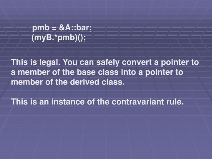 pmb = &A::bar;