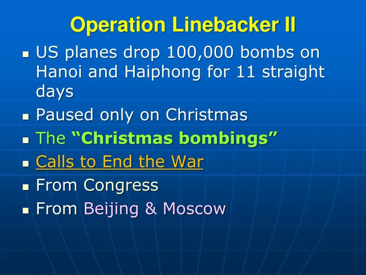 Operation Linebacker II