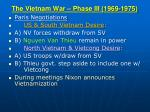 the vietnam war phase iii 1969 19751