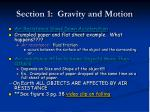 section 1 gravity and motion5