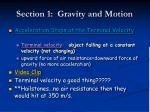 section 1 gravity and motion6