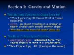 section 1 gravity and motion8