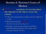section 2 newton s laws of motion14