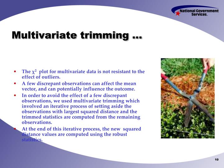 Multivariate trimming …