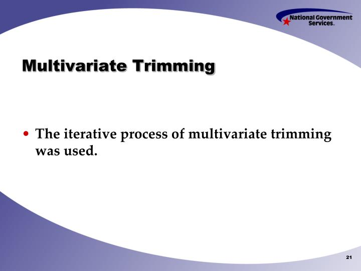 Multivariate Trimming