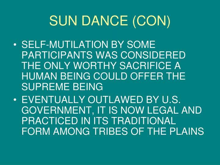 SUN DANCE (CON)