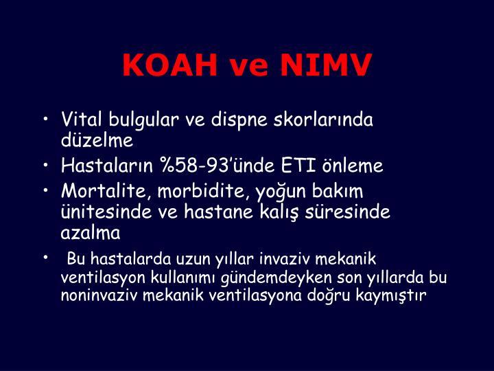 KOAH ve NIMV