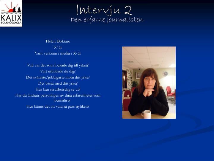 Intervju 2