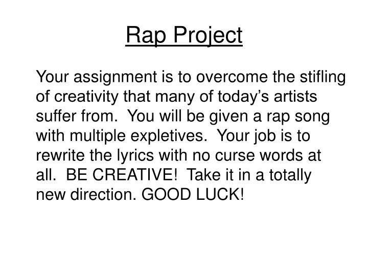 Rap Project