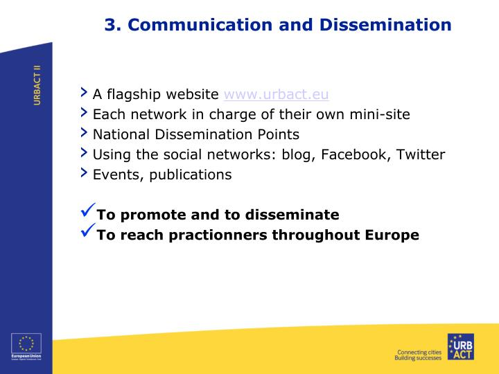 3. Communication and