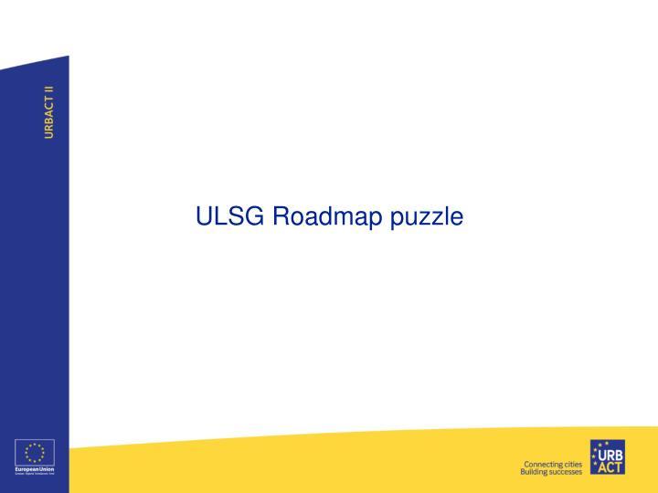 ULSG Roadmap puzzle