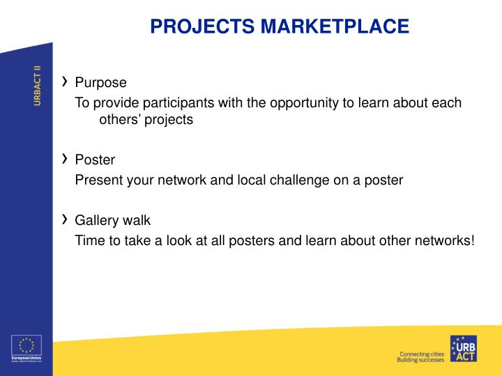 PROJECTS MARKETPLACE