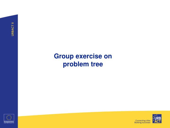 Group exercise on