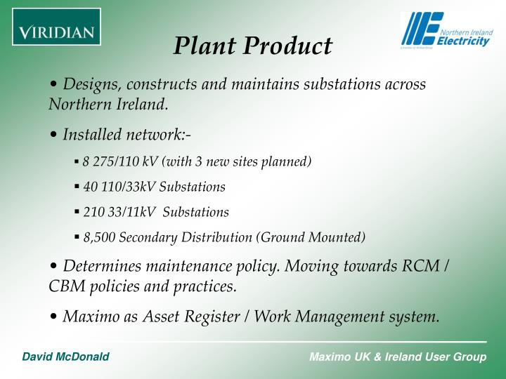 Plant Product