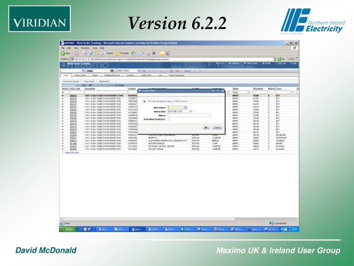 Version 6.2.2