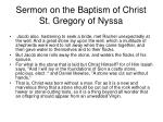 sermon on the baptism of christ st gregory of nyssa