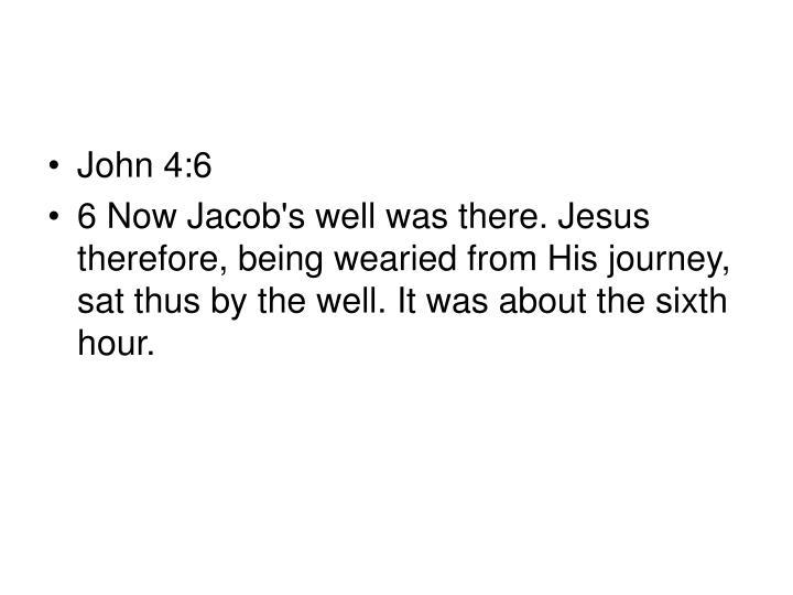 John 4:6