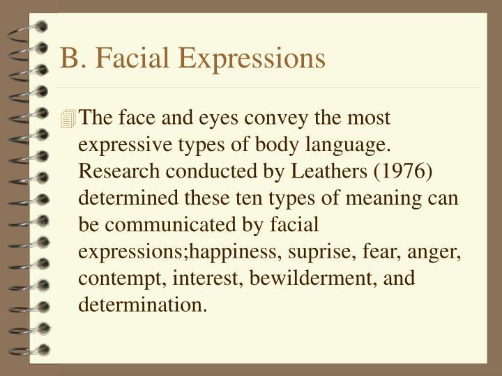 B. Facial Expressions