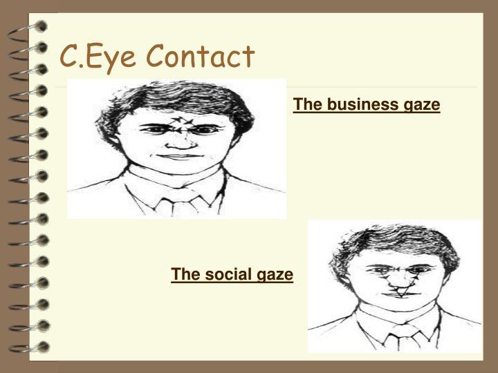 C.Eye Contact