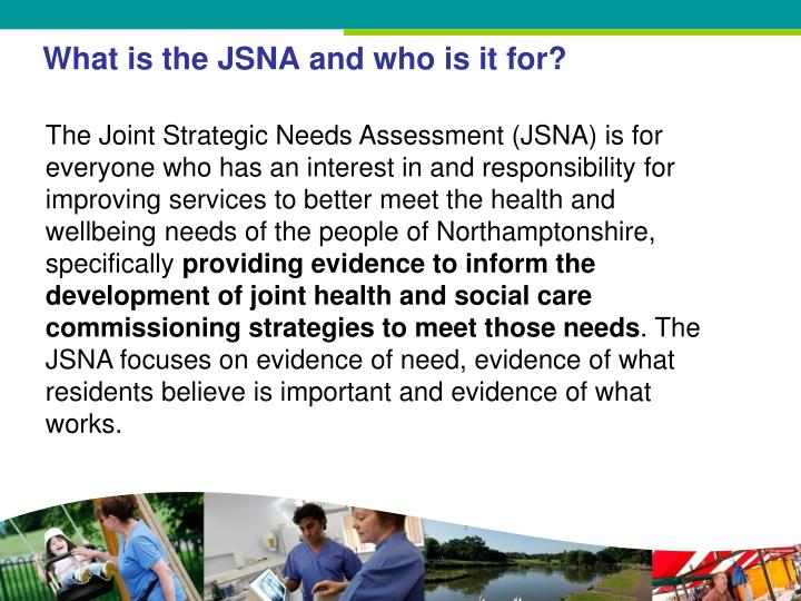 What is the JSNA and who is it for?
