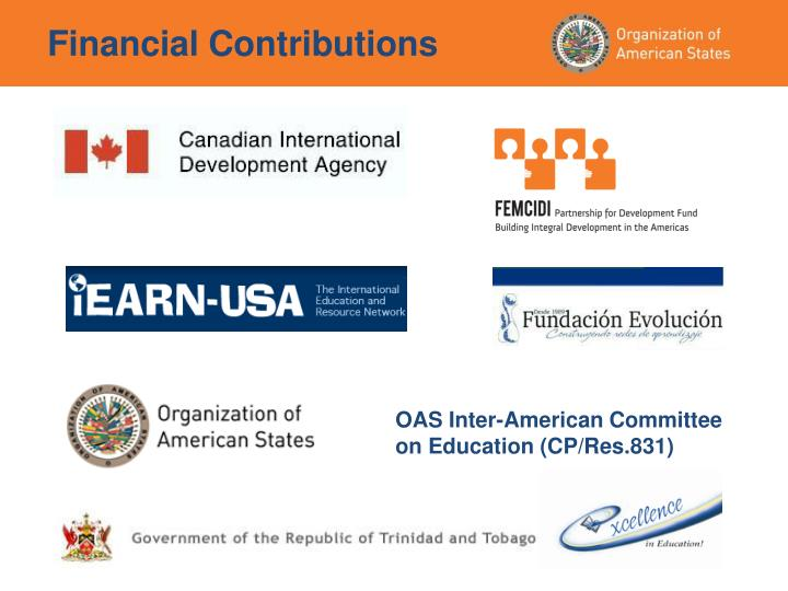 OAS Inter-American Committee on Education (CP/Res.831)