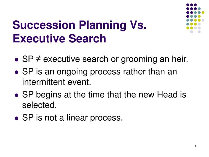 Succession Planning Vs. Executive Search