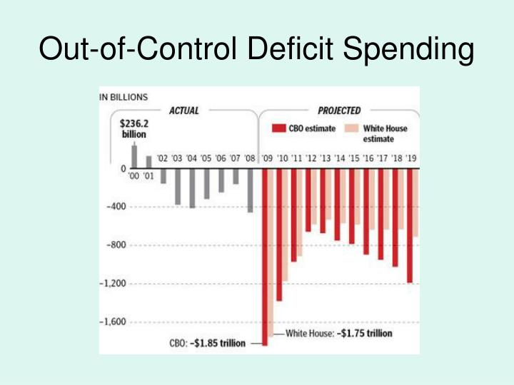 Out-of-Control Deficit Spending