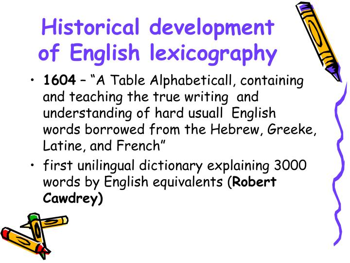 english lexicology essay Developing effective essays commonly confused words questions & answers  words, meaning, and vocabulary: an introduction to modern english lexicology continuum, 2007).