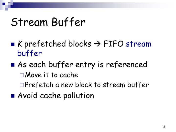 Stream Buffer