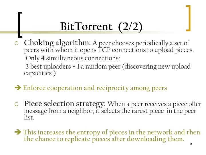 BitTorrent  (2/2)