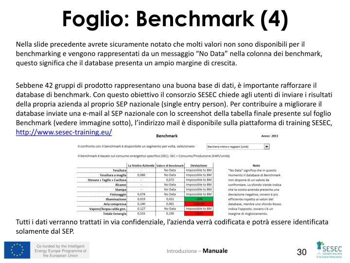 Nella slide precedente avrete sicuramente notato che molti valori non sono disponibili per il