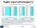 foglio input sull energia 1