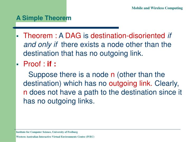 A Simple Theorem