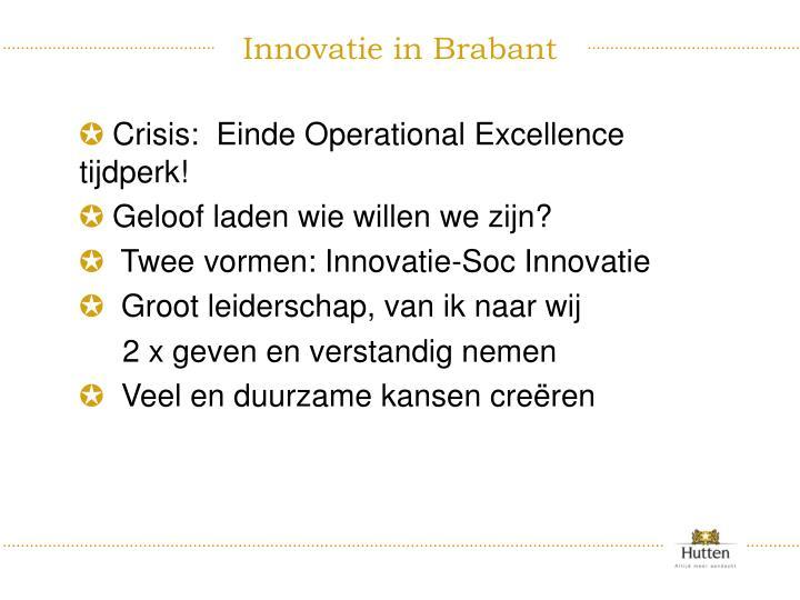 Innovatie in Brabant